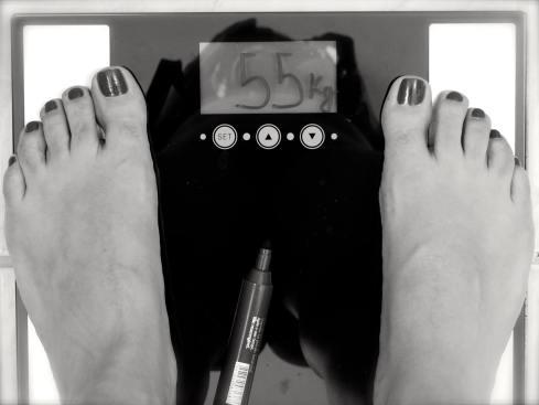 Pipocos fotográficos: Meço o peso